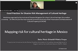 Presentation of Ms. Dulce María GRIMALDI