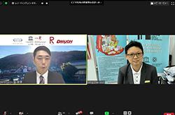 Presentation of Dr. Ming Chee ANG